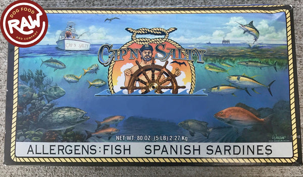 Sardines - Gulf of Mexico - Wild Caught