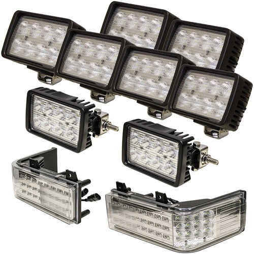 Complete Ford-New Holland 70 Genesis Series LED Light Kit - Petersen Parts