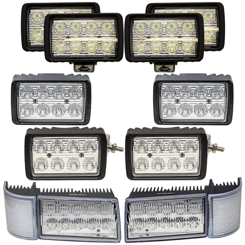 Complete Case IH MX Series Maxxum LED Light Kit - Petersen Parts