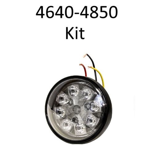 John Deere 4640 - 4850 kit (optional hood lights) - Petersen Parts