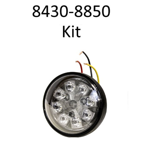 John Deere 8430-8850 kit (optional hood lights) - Petersen Parts