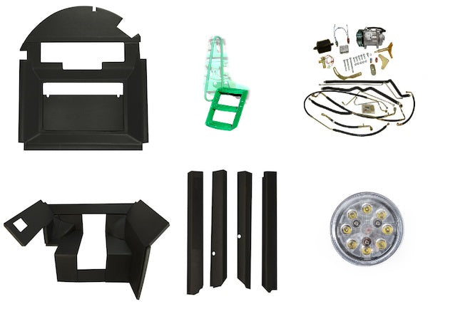 John Deere 4030-4630 master revival kit with QUICK FIT upholstery - Petersen Parts