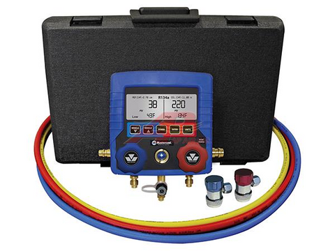 Mastercool R134A digital gauge set - Petersen Parts