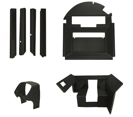 John Deere 4040-4840 interior kit QUICK FIT - Petersen Parts