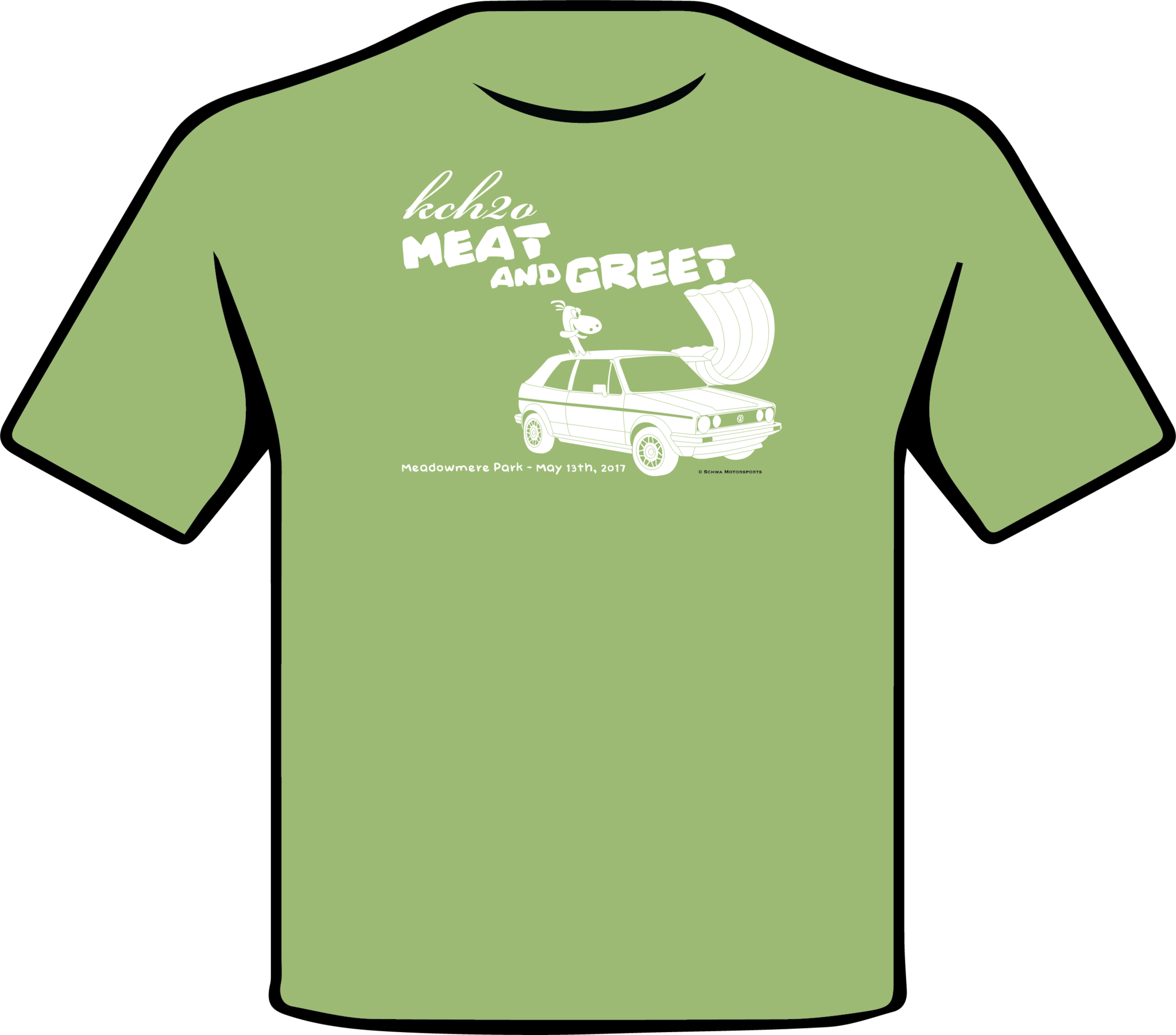 KCH2O Meat and Greet 2017 One Color T-Shirt