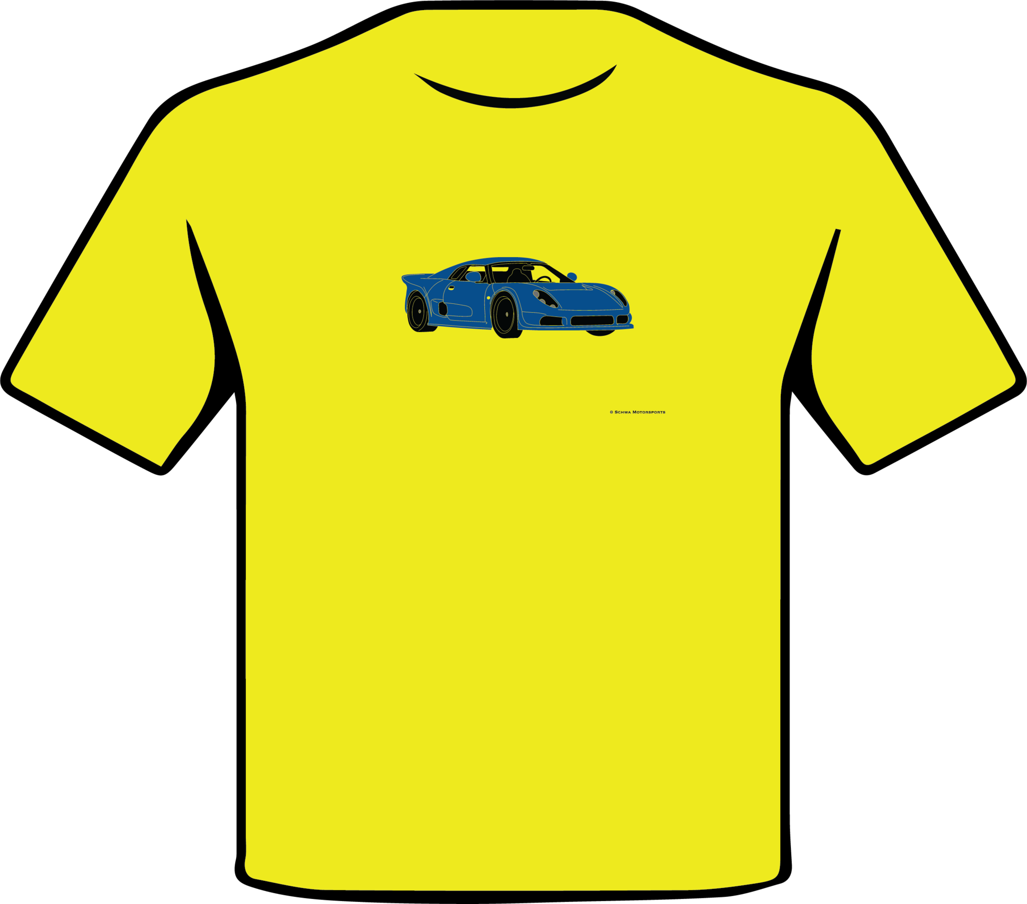 Noble M400 Front 3/4 Angle Multi Color T-Shirt