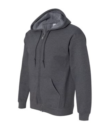 Company Hooded Zipper Sweatshirt