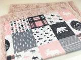 Fearfully and Wonderfully Made Designer Luxe Minky Blanket