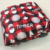 Timber Designer Luxe Minky Blanket