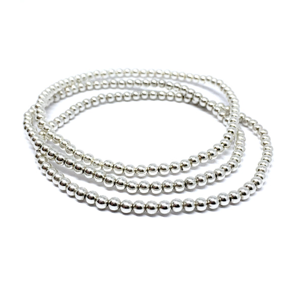 "THE ""TRINITY"" STERLING SILVER BRACELET SET"