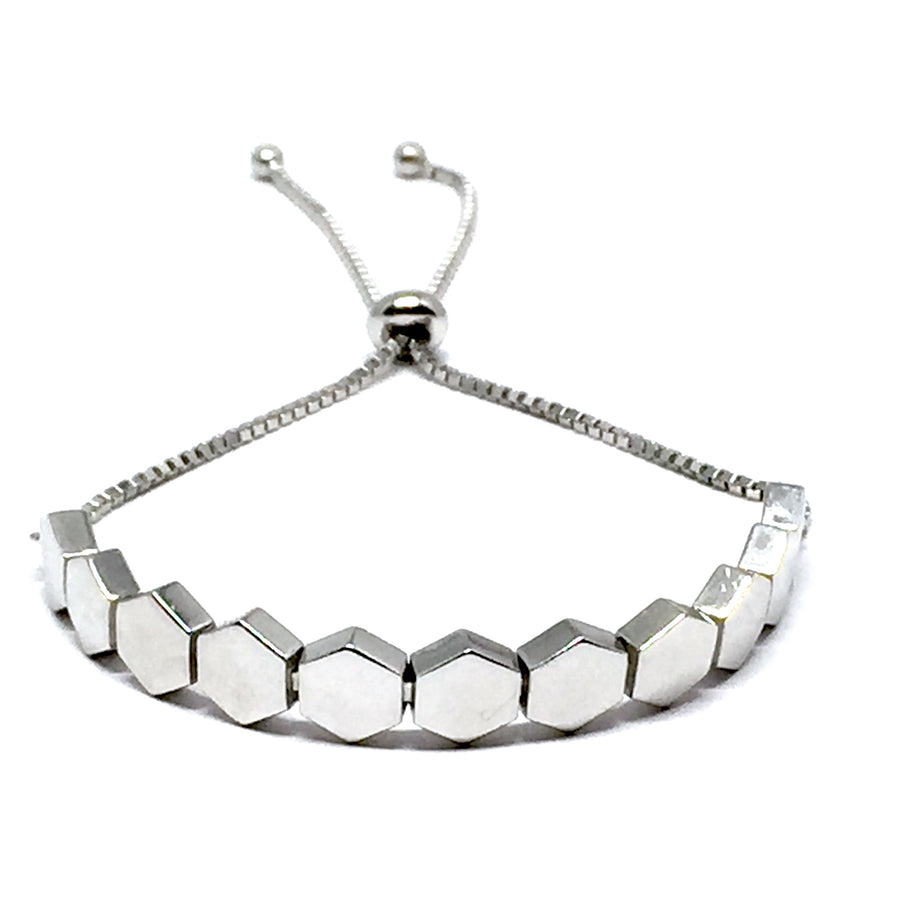 "THE ""HONEY"" STERLING SILVER BRACELET"