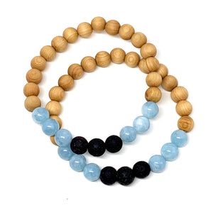 "THE ""SANDY BEACH"" MALA BRACELET"