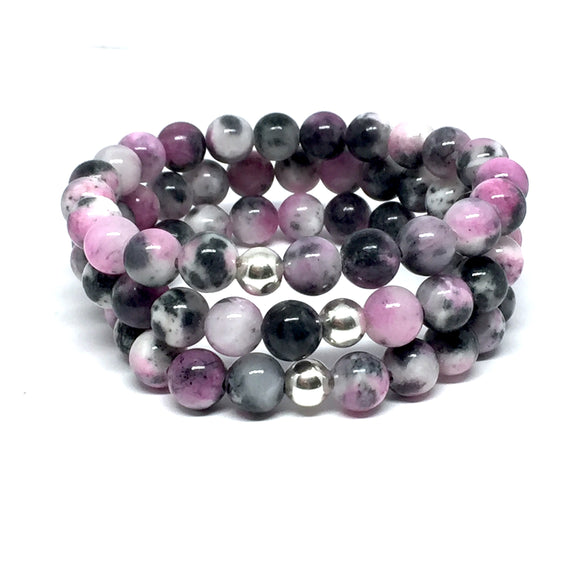 "THE ""PINK SHADOW"" MALA BRACELET"