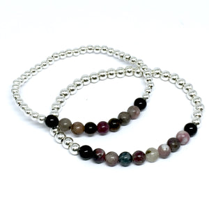 "THE ""BLACKBERRY"" STERLING SILVER BRACELET"