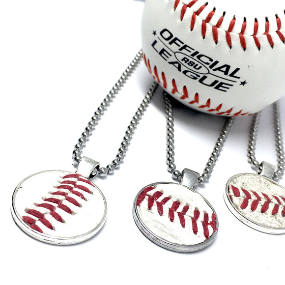 REAL BASEBALL NECKLACE