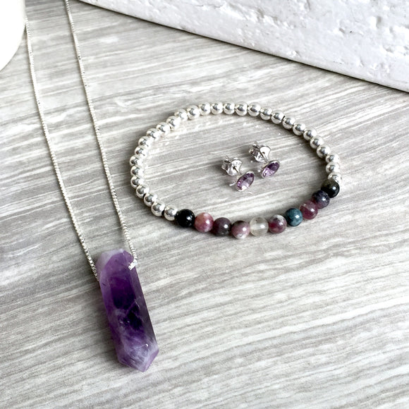 THE SERENITY AMETHYST NECKLACE
