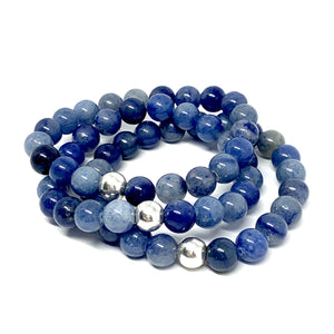 "THE ""DENIM GIRL"" MALA BRACELET"