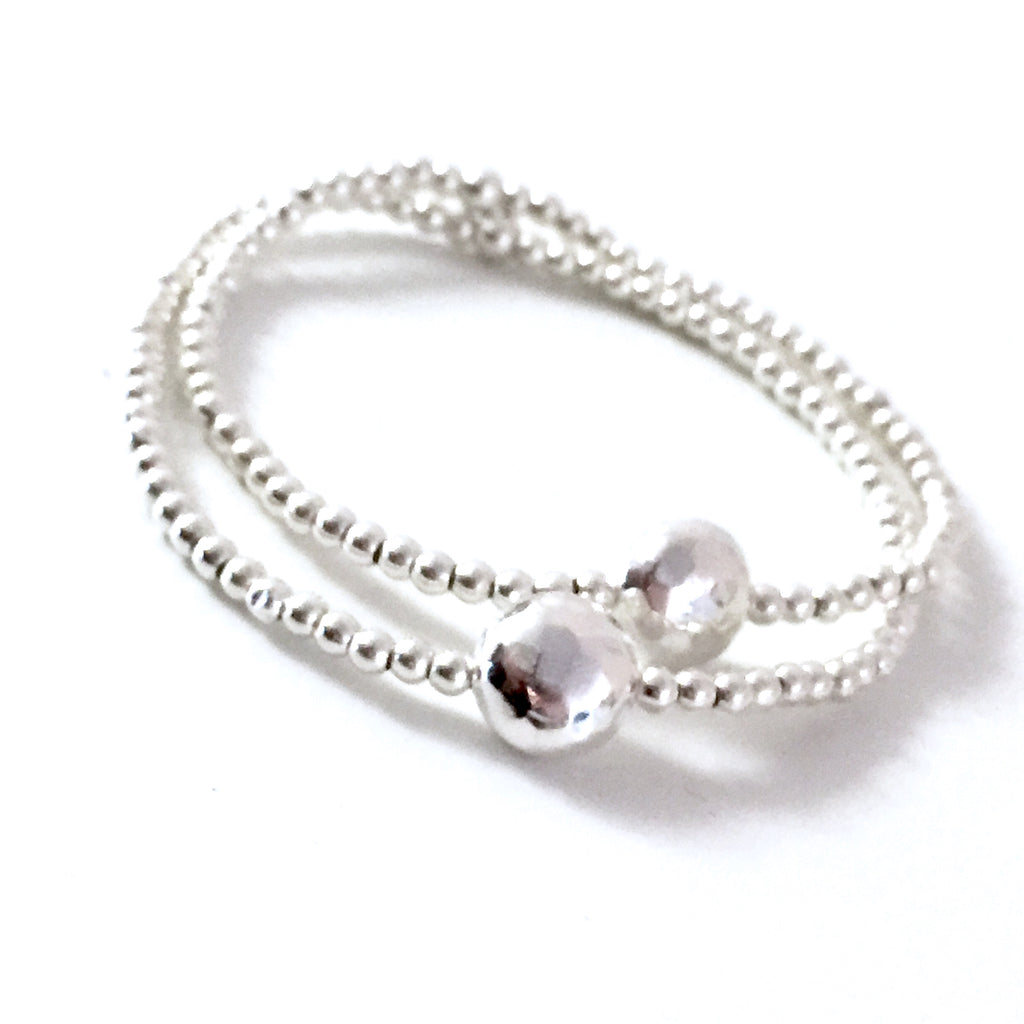 "THE ""KATE"" STERLING SILVER BRACELET"