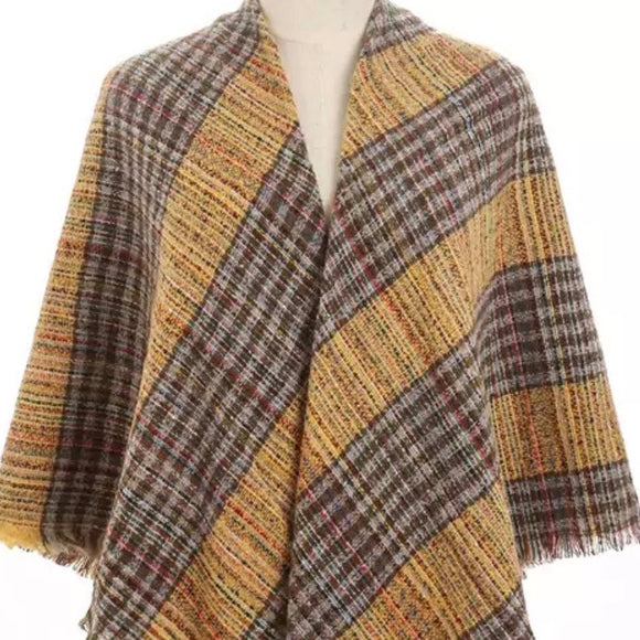 BLANKET SCARF - THE URBAN