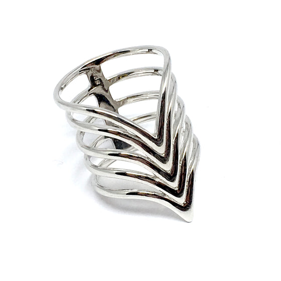 THE ZOEY STERLING SILVER RING
