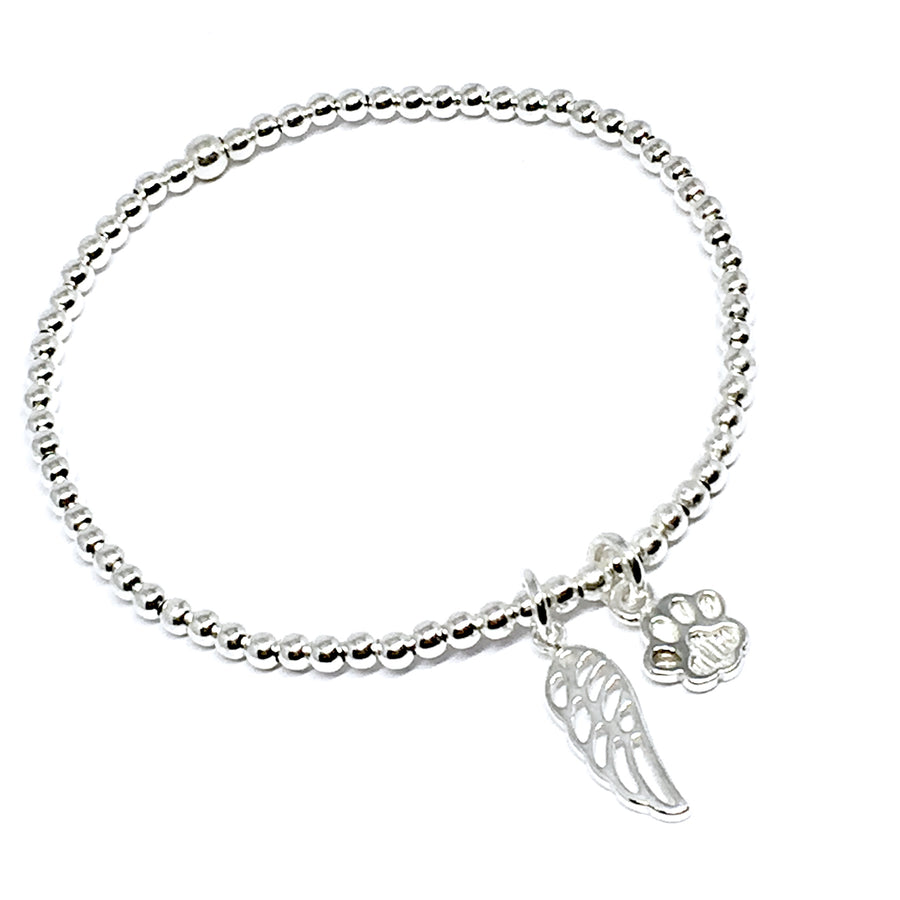 "THE ""MY DOG FOREVER"" STERLING SILVER BRACELET"