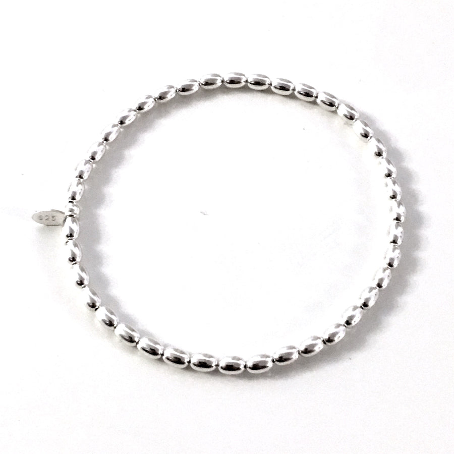 "THE ""MYA"" STERLING SILVER BRACELET"