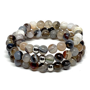 "THE ""DOWN TO EARTH"" MALA BRACELET"