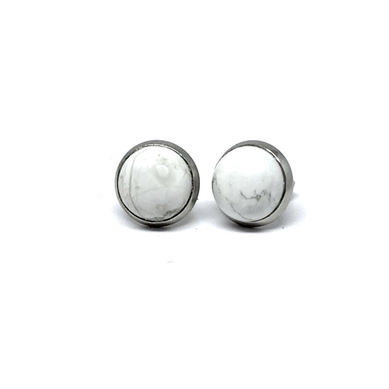 "THE ""HOWLITE"" STUD EARRINGS"
