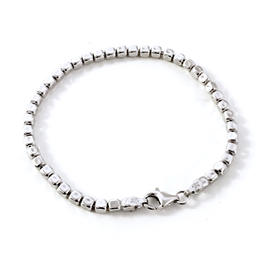 "THE ""BLOOM"" STERLING SILVER BRACELET"