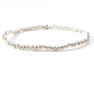 "THE ""MINI LINKS"" STERLING SILVER BRACELET"