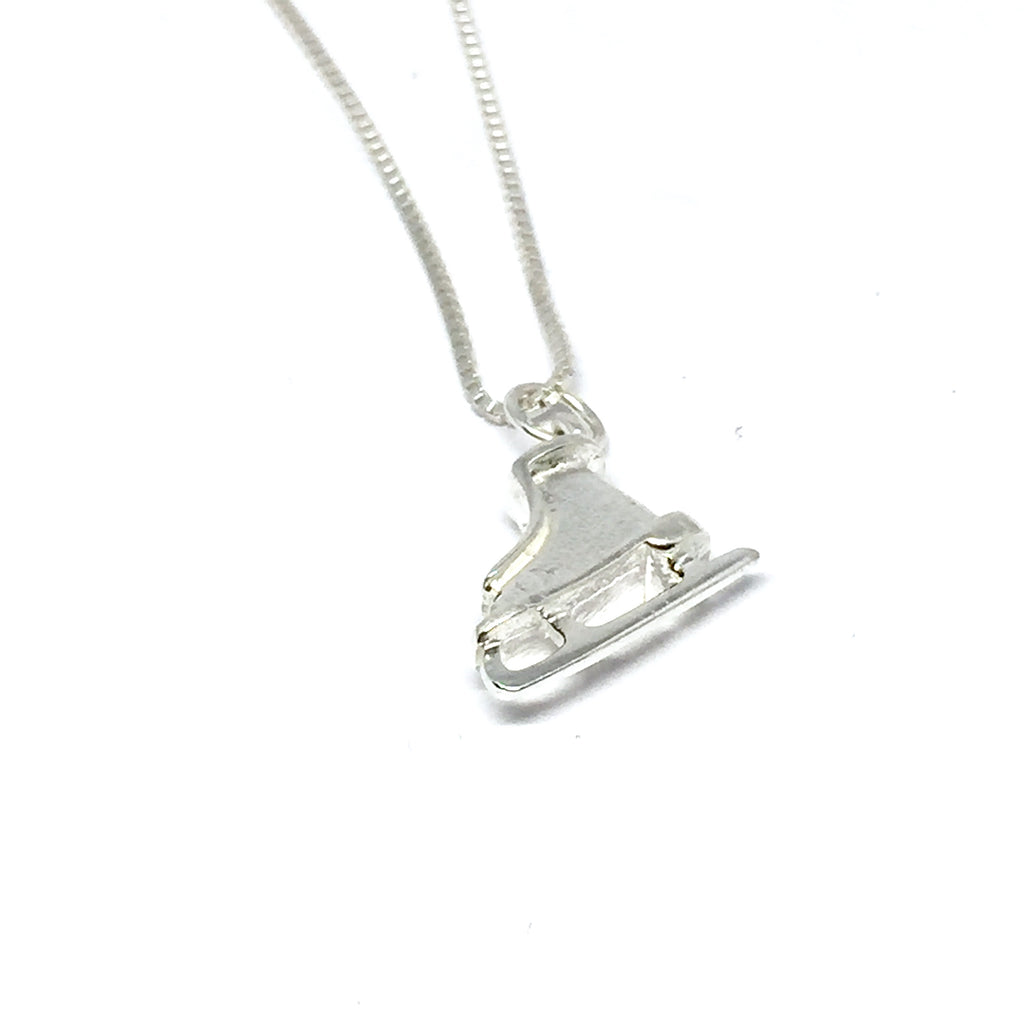 STERLING SILVER SKATE NECKLACE