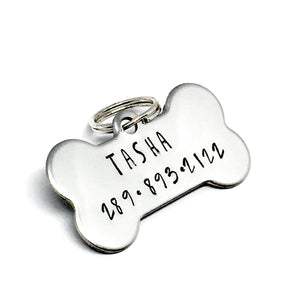 Custom Stainless Steel Dog Tag