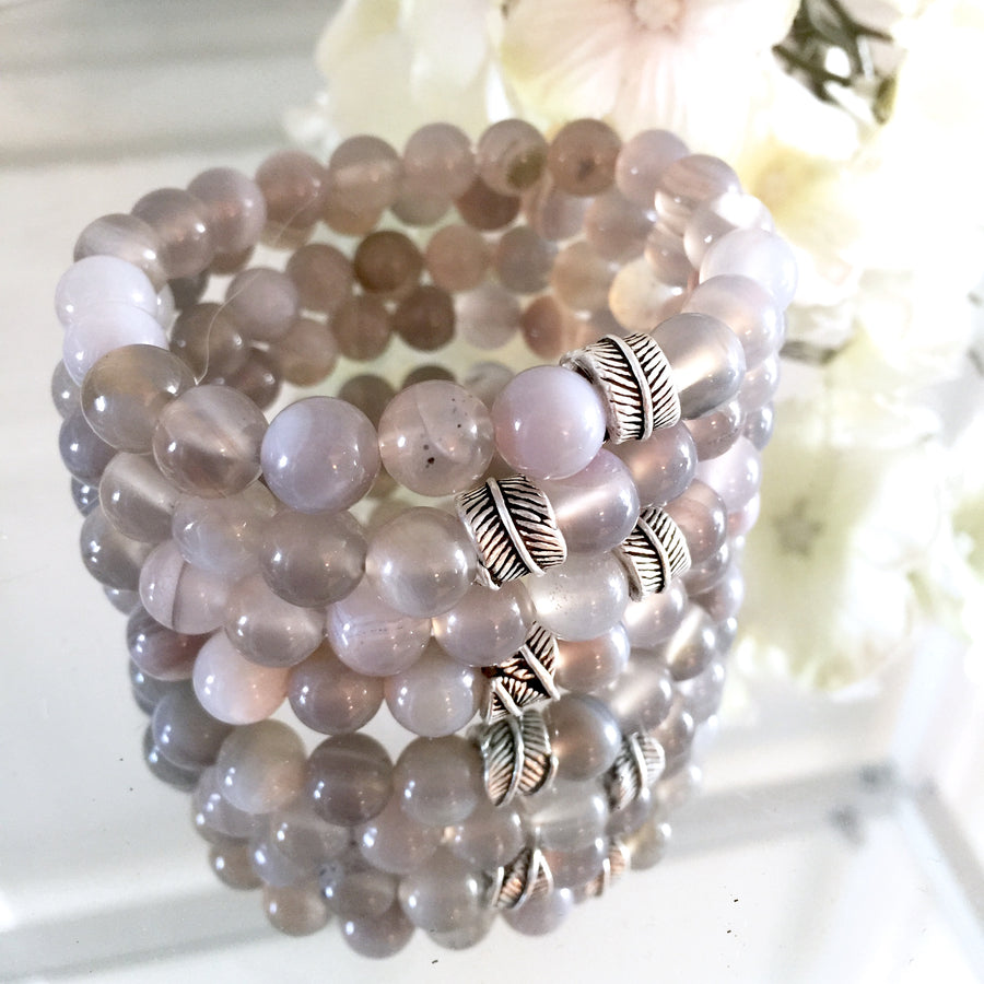 "THE ""BE STILL"" MALA BRACELET"