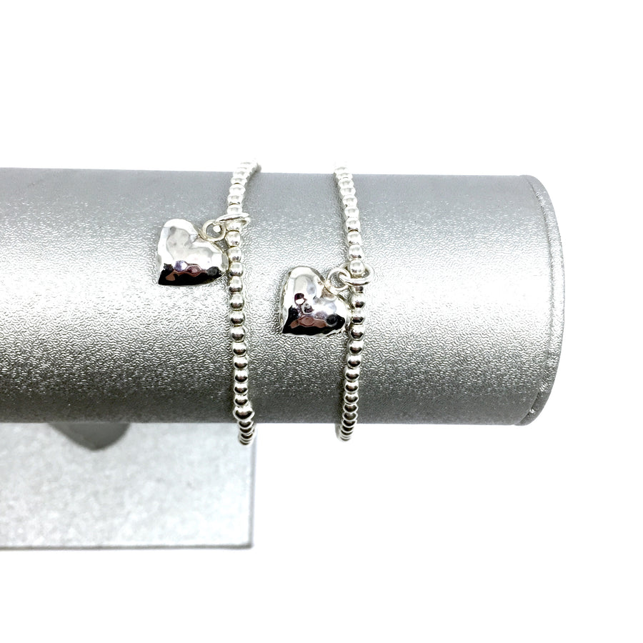 "THE ""LOVE YOU MORE"" STERLING SILVER BRACELET"