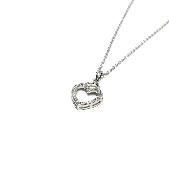 "THE ""FOREVER HEART"" NECKLACE"