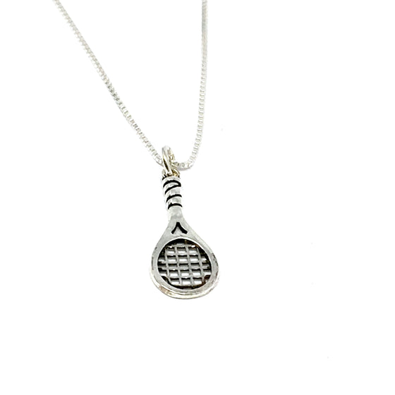 STERLING SILVER TENNIS NECKLACE
