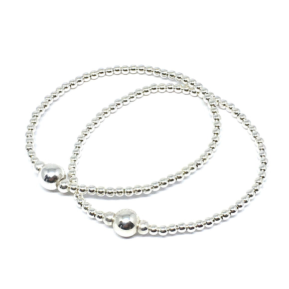 "THE ""CLASSIC"" STERLING SILVER BRACELET"