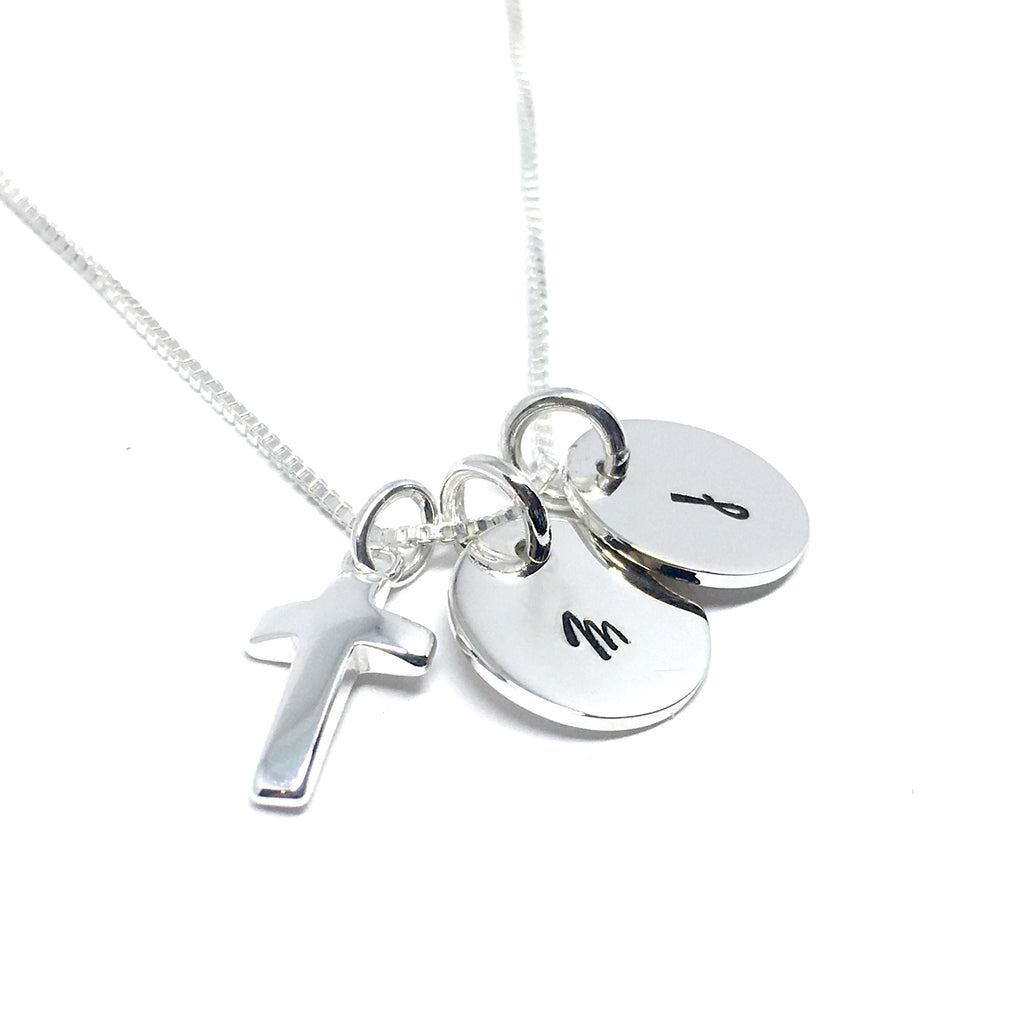 Simply Perfect Custom Cross Necklace