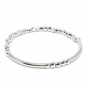 "THE ""DAZZLE"" STERLING SILVER BRACELET"