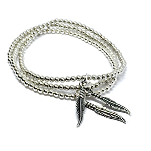 "THE ""FREE SPIRIT""                                         STERLING SILVER BRACELET"