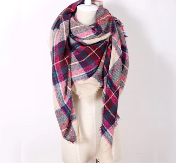 BLANKET SCARF - PASSION
