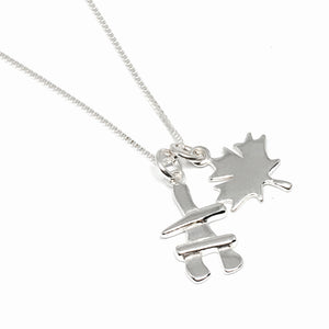 The Great Canadian Silver Necklace