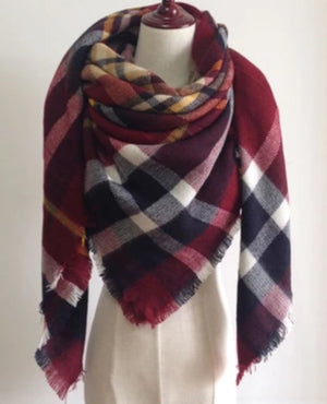 Blanket Scarf - Berry Nice