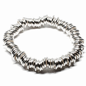 "Sterling Silver 9mm ""Links of Love"" Bracelet"