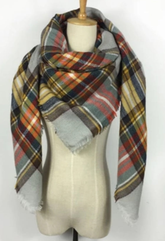 Blanket Scarf - The Hipster