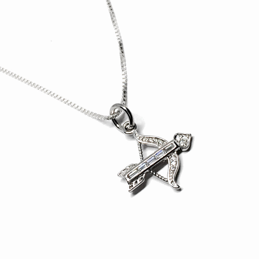 Cupid's Bow & Arrow Necklace