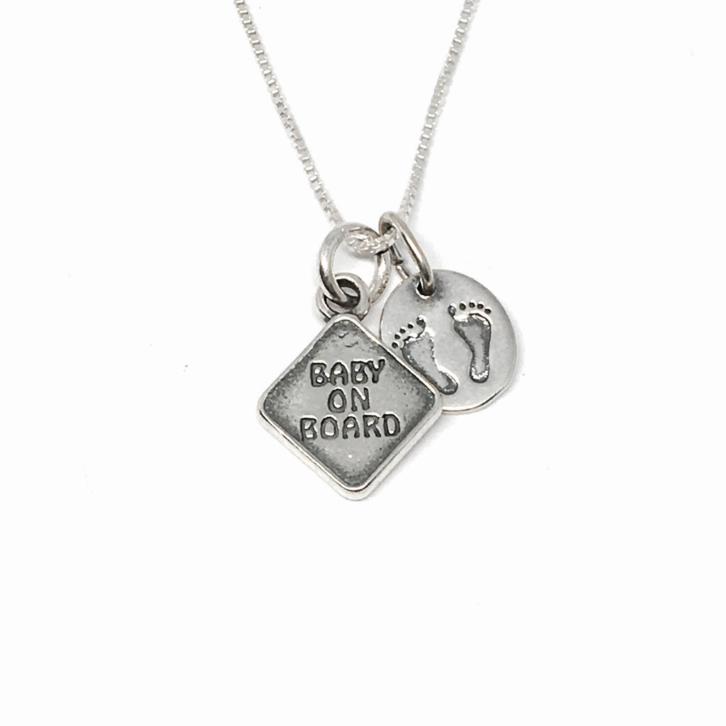Baby on Board Expecting Mother Necklace