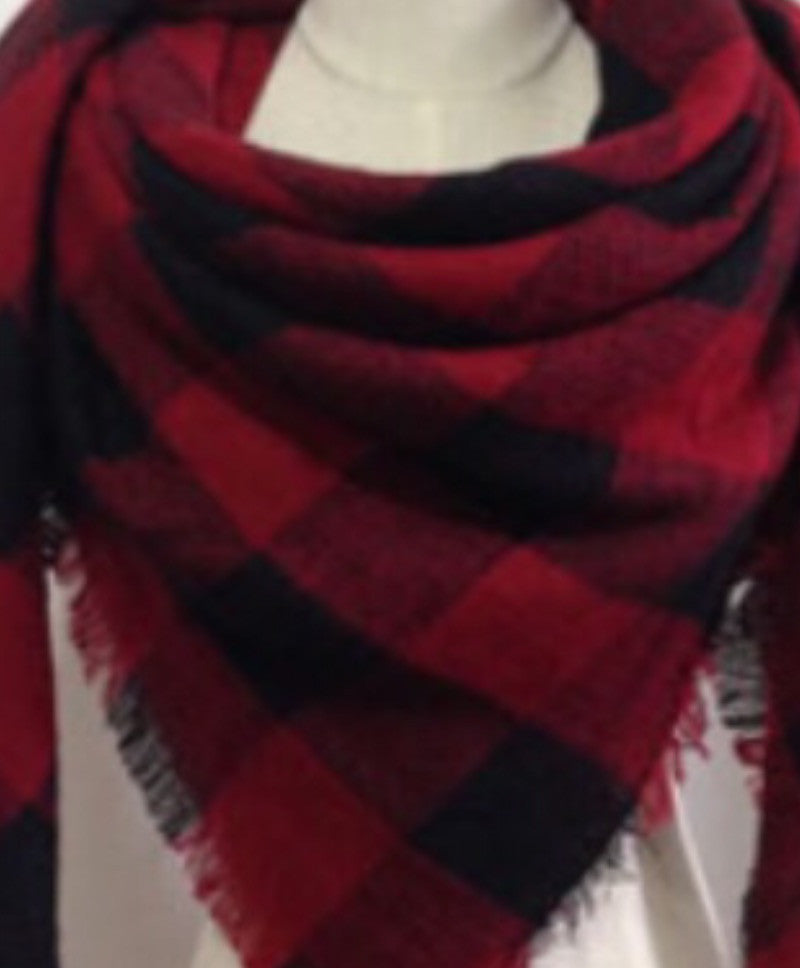 Blanket Scarf - The Canuck