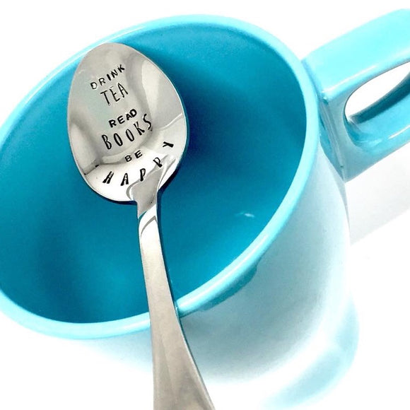 Custom Hand Stamped Spoon - Your Choice!