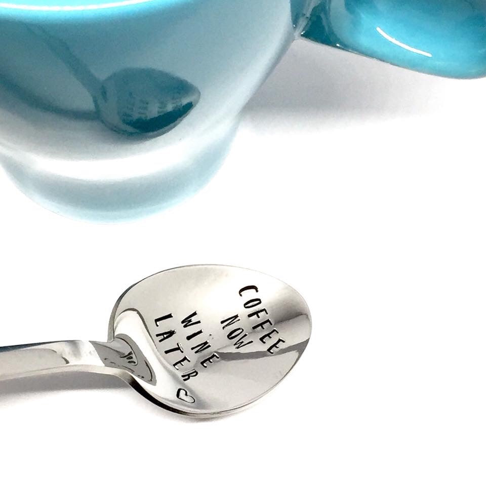 Custom Hand Stamped Spoon